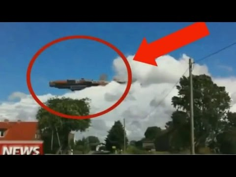 7 Unexplained UFO's Footage Caught on Camera