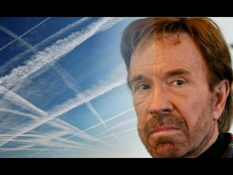 Chuck Norris Takes On Chemtrails