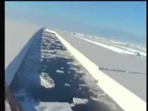 Wahnsinn – Arktis-Eisflächen werden von HAARP in Stücke geschnitten .