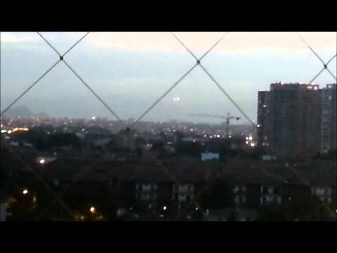 UFO Sightings 2012 This Week South of Santiago, Chile Real Alien UFOs Caught On Tape Today OVNI