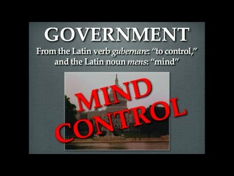 Government = Mind Control