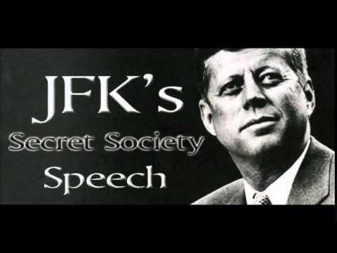 John F. Kennedy Secret Societies, Conspiracy Speech (full version)
