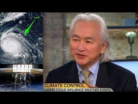 Michio Kaku admite que el HAARP es el causante de la oleada de huracanes