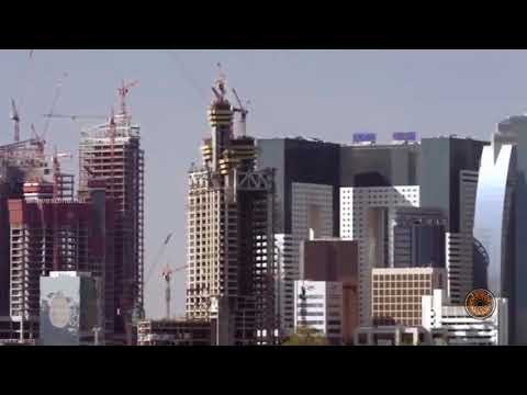 UFO Sightings 2017 | UFOs Caught On Tape | UFO Flying over Doha Building HD