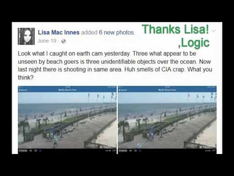 UFO/s Sightings THEN Shooting Caught Live on FB?  Hmm?