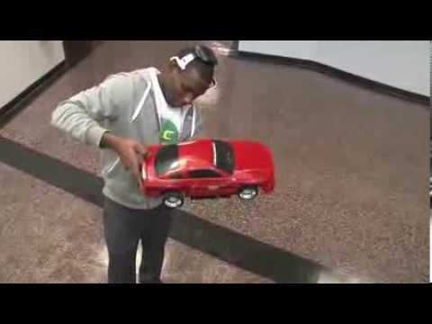 Mind control: Brain waves power model car
