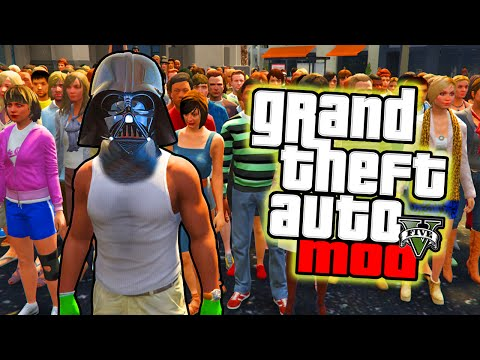 GTA 5 PC Mods – MIND CONTROL MOD! GTA 5 Star Wars Force Super Powers Mod! (GTA V PC Mod)