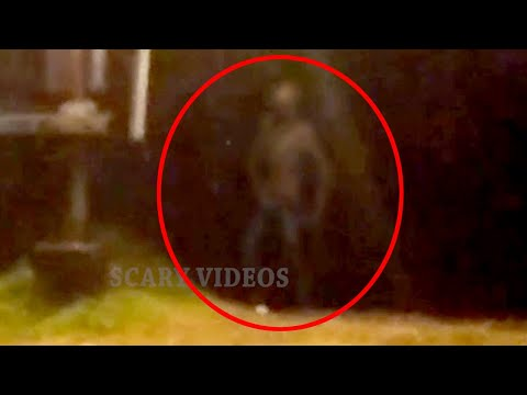 Ghost Like Creature Caught On Tape!! Paranormal Activity 2017