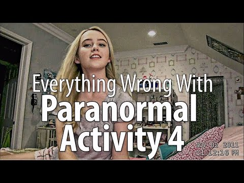 Everything Wrong With Paranormal Activity 4 In 12 Minutes Or Less
