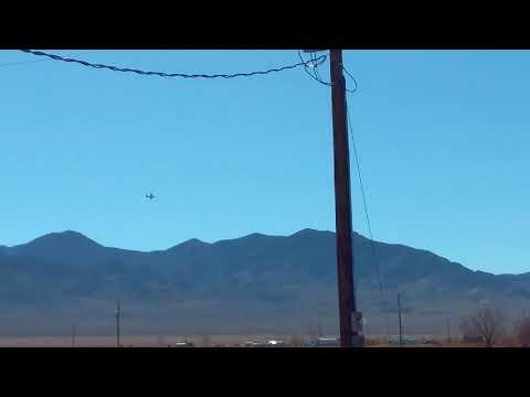 C-130 Hercules Transport Aircraft Sightings Over Area 51