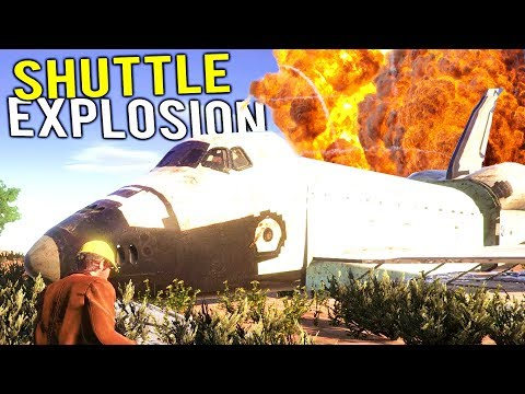 DEMOLITION TEAM BLOWS UP SPACE SHUTTLE IN AREA 51! – Demolish and Build 2018
