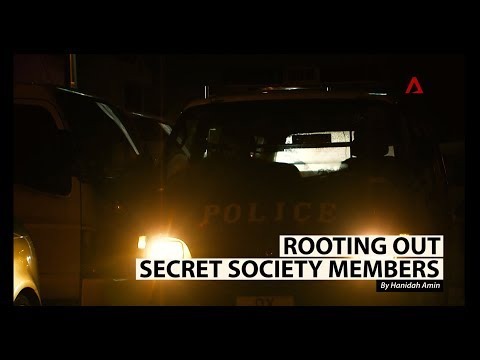 How the police root out secret society members