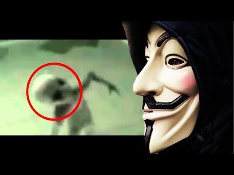 Anonymous – Alien Footage From Area 51 Hacked
