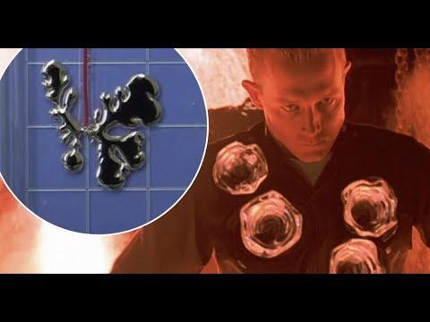 La conspiración de los robots Liquidos Polialeación Mimética-Base Dulce los Terminator 2