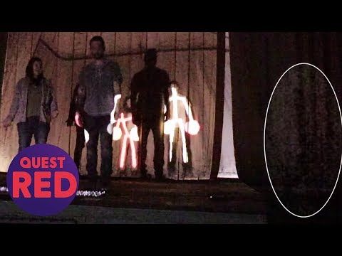 Has This Shadowy Figure Been Provoked By Visitors To The Building? | Paranormal Lockdown