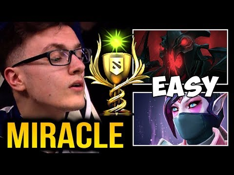 MIRACLE- Mindcontrol are bullying their friends in BattleCup – Shadow Fiend & TA Dota2