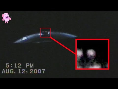 8 Declassified UFO Sightings with REAL Footage