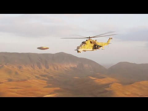 Russian HELICOPTERS encounter UFO over AZERBAIJAN !!! June 2018