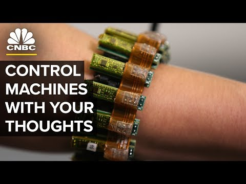 This Wearable Allows You To Control Machines With Your Mind   CNBC