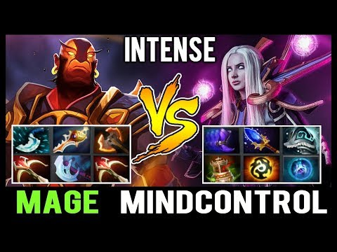 Mage Full Slotted Ember Spirit vs Mindcontrol 7Mad x2 TI Winners Team