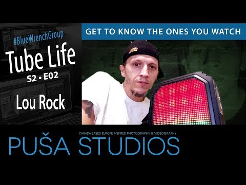 Paranormal Witness and Survivor   Lou Rock   Tube Life S02 * E02 on Puša Studios!