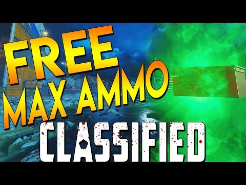 6 FREE MAX AMMOS + OPEN AREA 51 – BO4 Classified Zombies