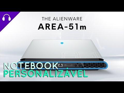 Area-51m, o notebook personalizável da Alienware lançado na CES 2019
