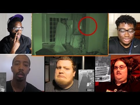 10 Most BELIEVABLE Paranormal Videos REACTIONS MASHUP