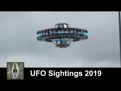 UFO Sightings 2019 At The Airport And Mexico Great Footage