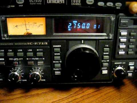 HAARP on Shortwave 2750khz