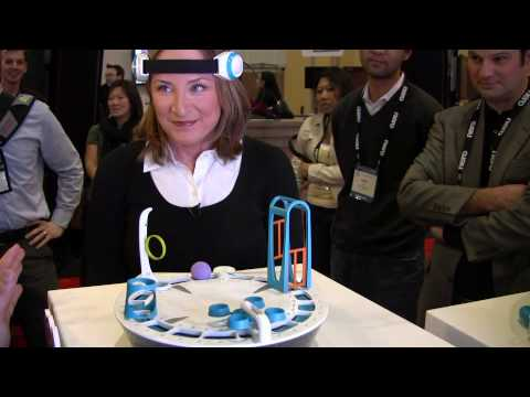 Mindflex Mind Control Game: Hottest Toy at CES 2009