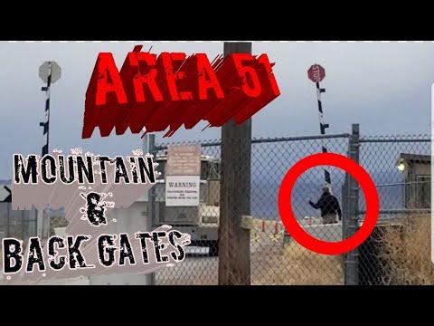 (AREA 51) STRANGE TIME AT THE BACK GATE
