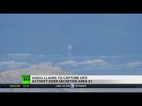 UFO enthusiast films a strange object near Area 51