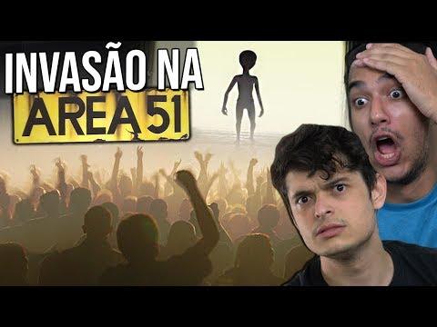 VÃO INVADIR A AREA 51 !? – ENTENDA O CASO