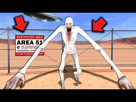 We Found SCP-096's Containment in Area 51… (SCP Survival) – Garry's Mod Gameplay