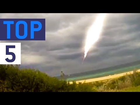Top 5 UFO Sightings || JukinVideo Top Five