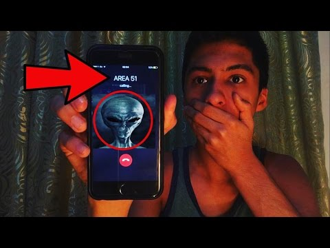 CALLING AREA 51!!! AN *ALIEN ANSWERED OMG*
