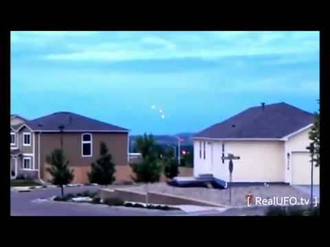 Real UFO sighting 2012 Daytime UFOs caught on tape Near NORAD in Colorado Springs more this week