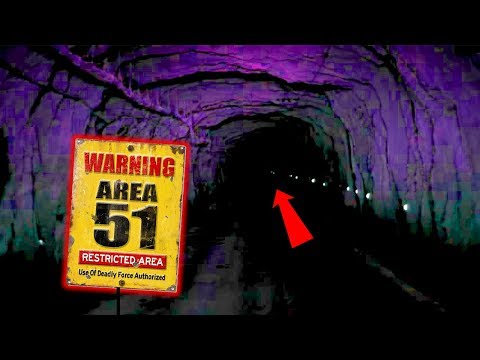 SOMETHING IS IN THE AREA 51 TUNNELS WITH US / EXPLORING THE TOP SECRET AREA 51 TUNNEL