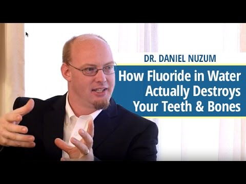 How Fluoride in Water Actually Destroys Teeth & Bones – Dr.  Daniel Nuzum