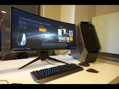 ALIENWARE 34″ GAMING MONITOR REVIEW:  ALIENWARE AREA 51 CUSTOM  BUILD: EPISODE #4