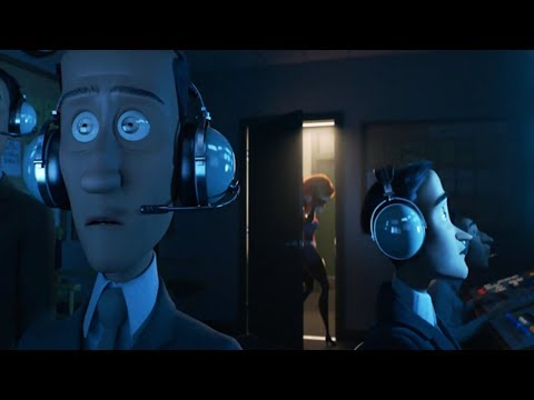 The Incredibles 2 (2018) Screenslaver Pilots Mind Control [HD] Edited