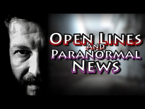 PARANORMAL NEWS UPDATE & Open Lines | The Conspiracy Show LIVESTREAM October 14
