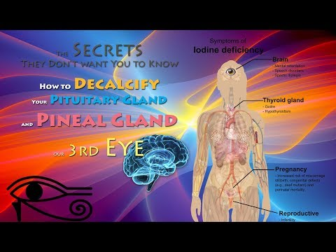 What They Don't want You to Know – How to Decalcify Your Pituitary Gland & Pineal Gland, our 3rd Eye