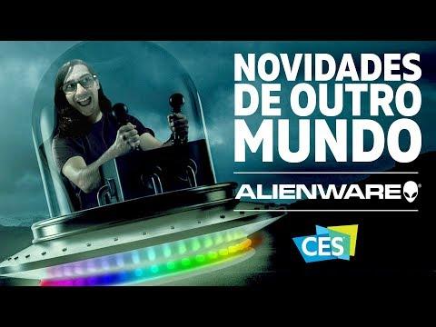 Alienware Area 51M: o laptop gamer de outro mundo na CES 2019