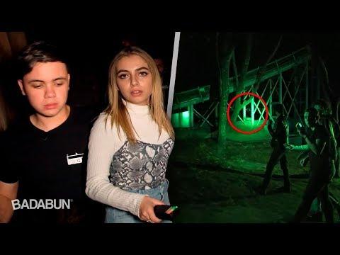 Una noche en un parque embrujado con mi novia