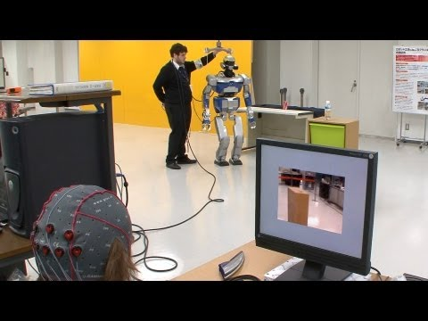 Mind controlled android robot – Researchers working towards robotic re-embodiment #DigInfo