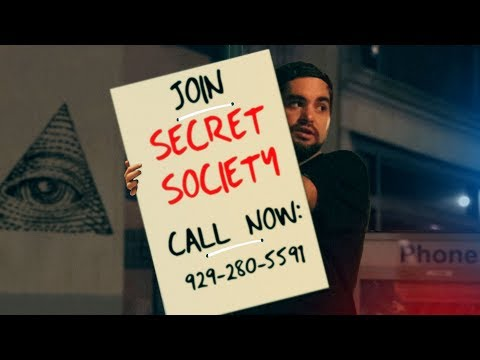 i started a Secret Society in NYC