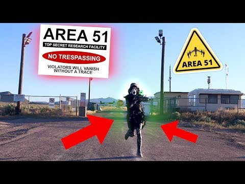 So, I ACTUALLY Went To Area 51 (and I barely made it out alive)