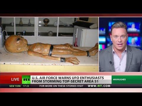 Area 51 'joke' turning dangerous